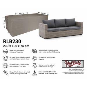 Beschermhoes loungebank, 230 x 100 H: 75 cm