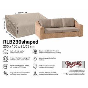 Loungebank beschermhoes, 230 x 100 H: 85 / 65 cm