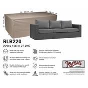 Raffles Covers Hoes voor loungebank 220 x 100 H: 75 cm