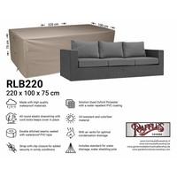 Hoes voor loungebank, 220 x 100 H: 75 cm