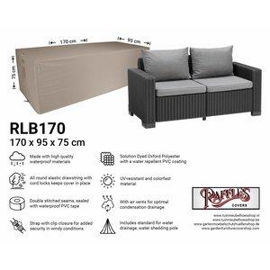 Loungebank beschermhoes, 170 x 95 H: 75 cm