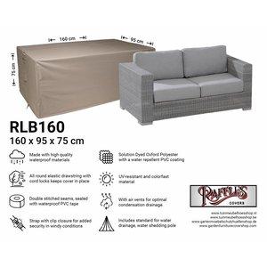 Tuinmeubelhoes loungebank, 160 x 95 H: 75 cm