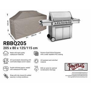 Barbecue beschermhoes, 205 x 80 H: 125 / 115 cm