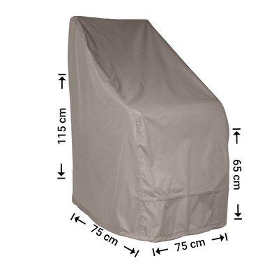 Raffles Covers Hoes voor tuinstoel 75 x 75 H: 115 / 65 cm