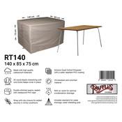 Raffles Covers Hoes voor buiten tafel 140 x 85 H: 75 cm