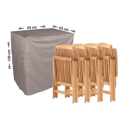 Raffles Covers Beschermhoes klapstoelen 95 x 65 H: 100 cm