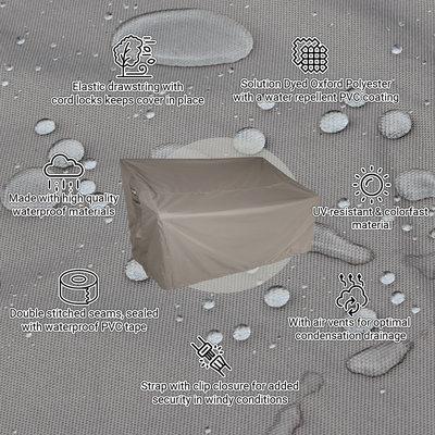 Raffles Covers Vierkante tuintafelhoes 85 x 85 H: 75 cm