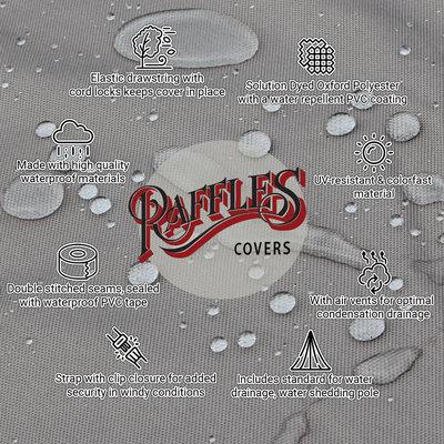 Raffles Covers Hoes loungebank hoek 260 x 260 x 90 H: 70 cm