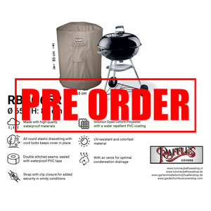!!PRE-ORDER!! Ronde barbecuehoes, Ø 65 H: 85 cm