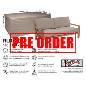 !!PRE-ORDER!! Hoes voor lounge bank, 180 x 100 H: 75 cm