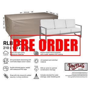 !!PRE-ORDER!! Loungebank hoes, 210 x 100 H: 75 cm