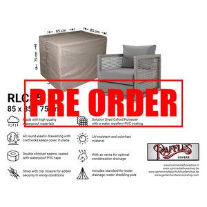 !!PRE-ORDER!! Loungestoel beschermhoes, 85 x 85 H: 75 cm