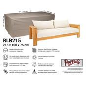Raffles Covers Beschermhoes voor loungebank 215 x 100 H: 75 cm
