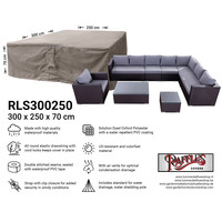 Hoes voor complete loungeset, 300 x 250 H: 70 cm