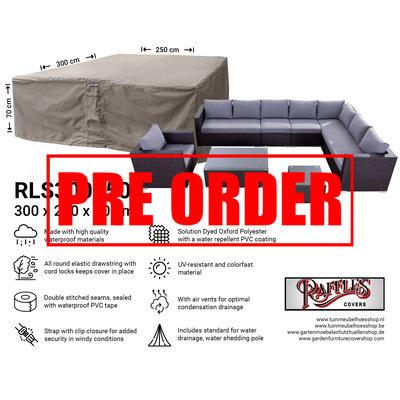 !!PRE-ORDER - AFWIJKENDE LEVERTIJDEN!! Hoes voor complete loungeset 300 x 250 H: 70 cm