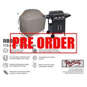 Raffles Covers !!PRE-ORDER - AFWIJKENDE LEVERTIJDEN!! Afdekhoes voor BBQ 115 x 60 H: 110 / 100 cm