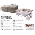Raffles Covers Hoes loungeset, 225 x 225 H: 70 cm
