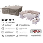 Raffles Covers Hoes loungeset 225 x 225 H: 70 cm