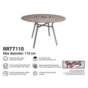 Hoes voor rond tafelblad, Ø: 110 cm