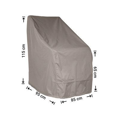 Raffles Covers Hoes voor tuinstoelen 95 x 85 H: 115 / 65 cm