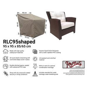 Hoes voor loungestoel, 95 x 95 H: 85 /65 cm