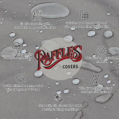 Raffles Covers !!PRE-ORDER - AFWIJKENDE LEVERTIJDEN!! Hoes voor Big Green Egg barbecue 152 x 80 H: 80 / 140 cm