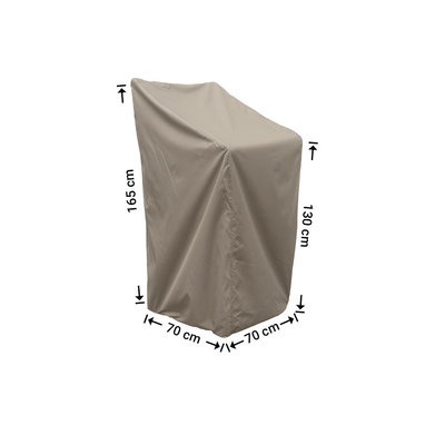 Raffles Covers Hoes stapelstoelen 70 x 70 H: 165 cm