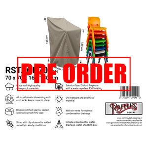 !!PRE-ORDER!! Hoes stapelstoelen, 70 x 70 H: 165 cm