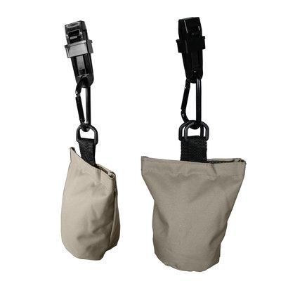 Raffles Covers 6 zandzakjes tegen op- of wegwaaien van uw hoes
