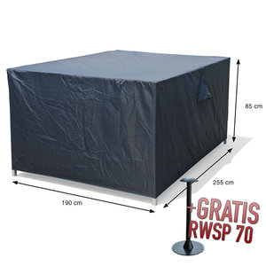 Tuinset beschermhoes, 255 x 190 H: 85 cm