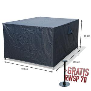Afdekhoes tuinset, 305 x 190 H: 85 cm