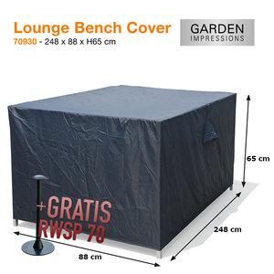 Loungebankhoes, 248 x 88 cm