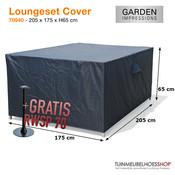 Garden Impressions Hoes loungeset, 205 x 175 cm H: 65 cm