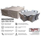Raffles Covers Vierkante lougesethoes 250 x 250 H: 95 cm