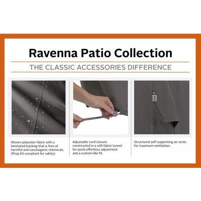 Ravenna, Classic Accessories Hoes voor Kamado plus tafel, 152 x 76 cm  H: 127 cm o.a. Big Green Egg