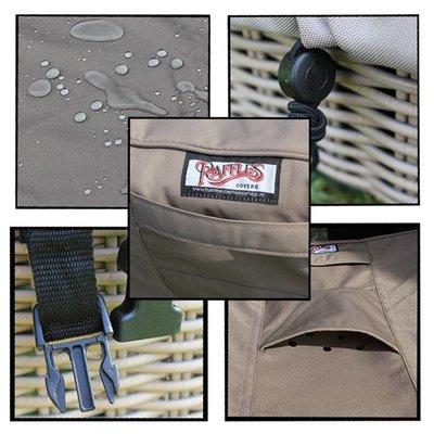 Raffles Covers Hoes voor opgeklapte stoelen 65 x 65 H: 100 cm