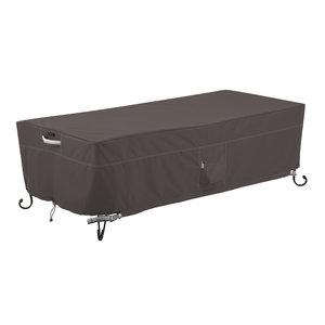 Hoes voor lage fire pit table, 152 x 71 cm H: 38 cm