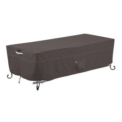 Hoes voor lage fire pit table, 152 x 71 cm hoog 38 cm