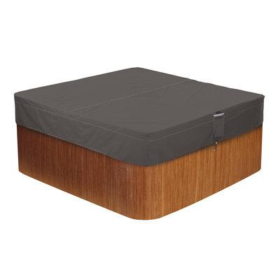 Hoes voor spa, hot tub, Jacuzzi, 218 x 218 cm, hoog 35 cm