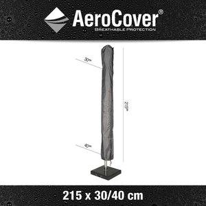 AeroCover Schutzhülle für Sonnenschirm mit Stab H: 215 cm
