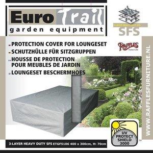 EuroTrail Wetterschutz für Geflecht Lounge-Möbeln 400 x 300 H: 70 cm