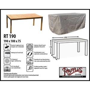 Raffles Covers Schutzhaube für Gartentisch 190 x 100 H: 75 cm