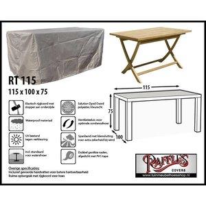 Raffles Covers Wetterschutz für rechteckige Gartentisch 115 x 100