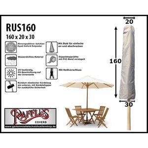 Raffles Covers Sonnenschirmhülle mit Stab H: 160 cm