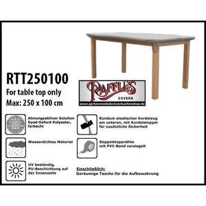 Raffles Covers Schutzhülle für eine rechteckige Tischplatte 250 x 100 cm