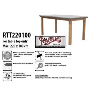 Raffles Covers Abdeckung für eine Tischplatte 220 x 100 cm