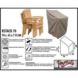 Raffles Covers Schutzhülle für Garten Stapelstühle 70 x 65 H: 115 cm