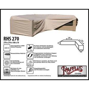 Raffles Covers Schutzhülle für Eck-Loungegruppe 270 x 270 x 100 H: 70 cm