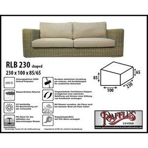 Raffles Covers Wetterschutz für Terrasse Sofa 230 x 100 H: 85/65 cm