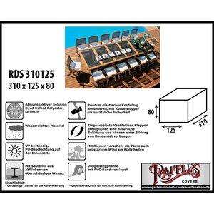 Raffles Covers Schutzhülle für Garten Sitzgruppe 310 x 125 H: 80 cm